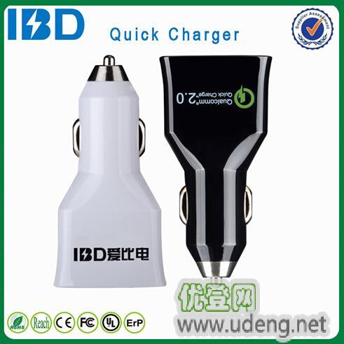 爱比电,QC2.0车载充电器,QC2.0车载充电器生产厂家