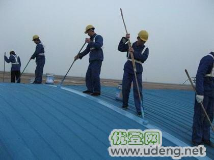 上海青浦区厂房彩钢瓦防腐翻新、屋面彩钢板除锈刷漆