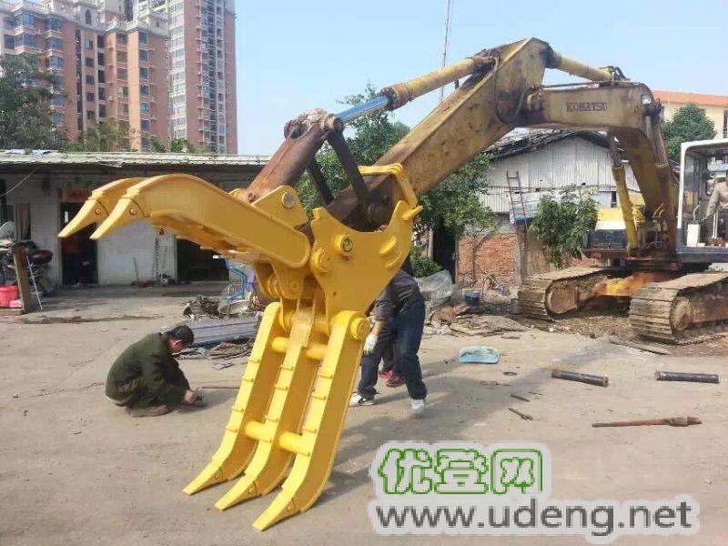 广州钩机抓木器厂家-图片